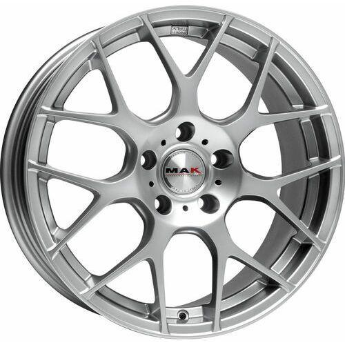 dtm-one hyper silver 8.50x19 5x115 et20, dot marki Mak