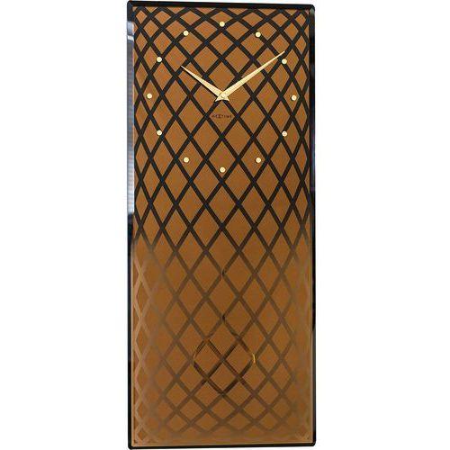 Zegar ścienny z wahadłem pendula złoty (3216 co) marki Nextime