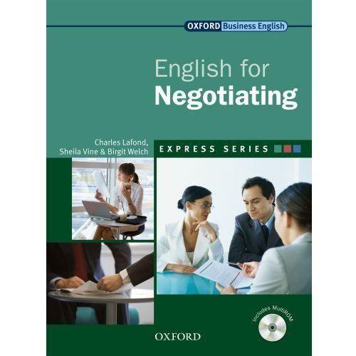 English for Negotiating. Ksiązka Ucznia + CD (88 str.)