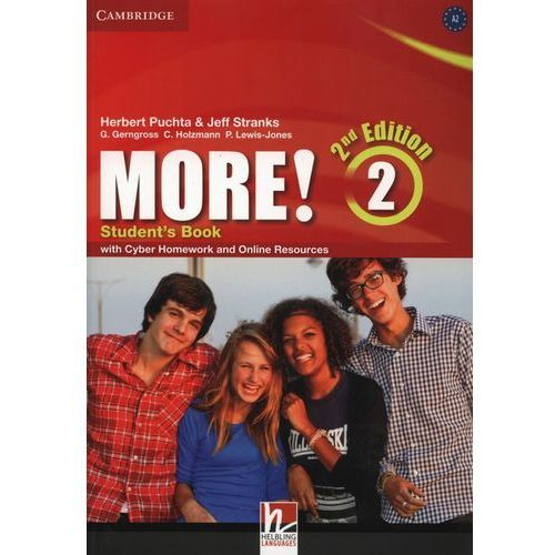 More! 2 Second Edition. Podręcznik + Cyber Homework + Online Resources, Herbert Puchta|Jeff Stranks