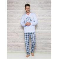 Taro arek 2130 aw/17 k1 błękitna piżama męska