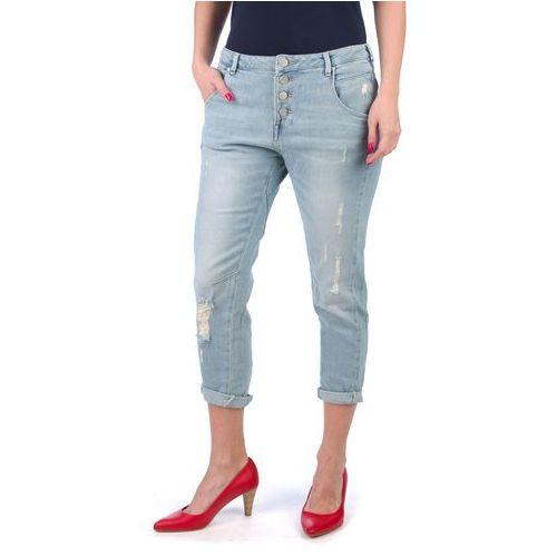 jeansy damskie new tapered 32/32 niebieski marki Mustang