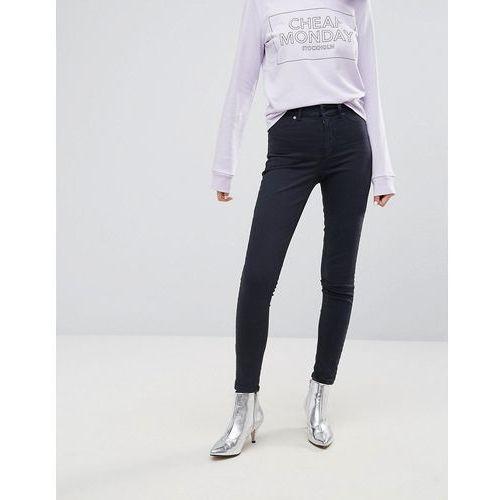 Cheap monday  high spray skinny jeans - black