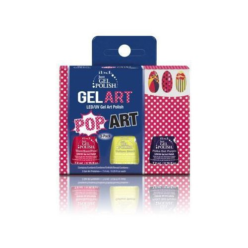 IBD Just Gel Polish POP ART KIT - do zdobień - POP ART KIT - do zdobień