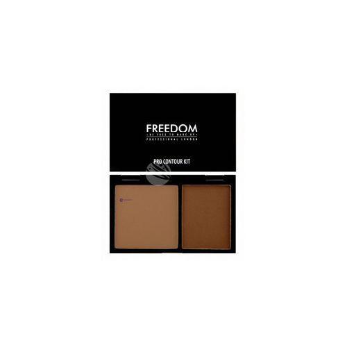 pro contour kit (w) paleta do konturowania twarzy 02 medium 6g marki Freedom