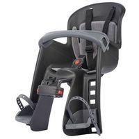 Polisport fotelik rowerowy bilby junior (mocowanie z przodu) czarny/ciemnoszary