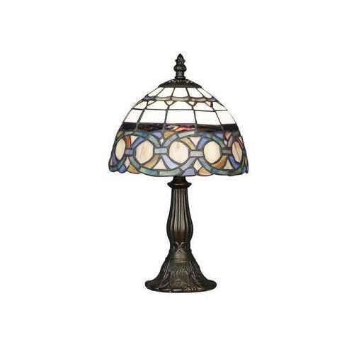 Lampa stołowa tiffany 81 1xe14/40w marki Prezent