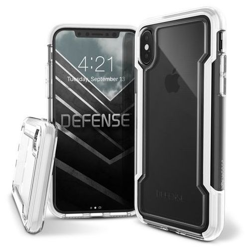 X-Doria Defense Clear - Etui iPhone X (White), 460804