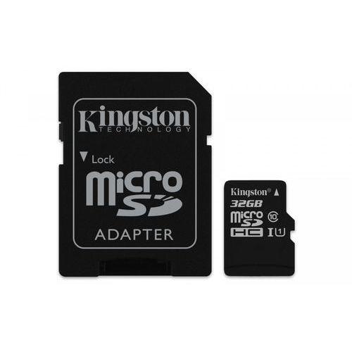 Kingston Karta pamięci Kingston microSDHC Canvas Select 32GB UHS-I Class 10 + adapter, 1_625058