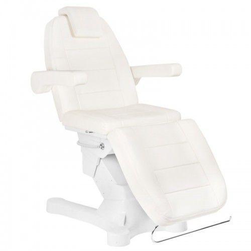 Fotel kosmetyczny elektr. a-207c white/ivory (4 silniki) marki Activeshop