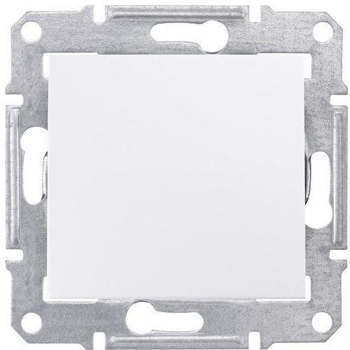 Łącznik pojedynczy Schneider Sedna SDN0100321 hermetyczny IP44 biały, SDN0100321