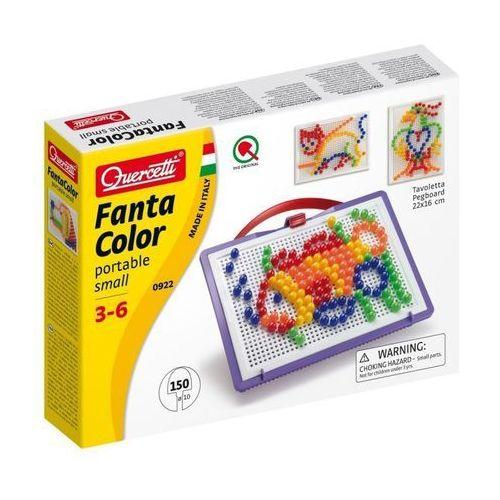 Quercetti , fanta color portable small, zabawka kreatywna mozaika