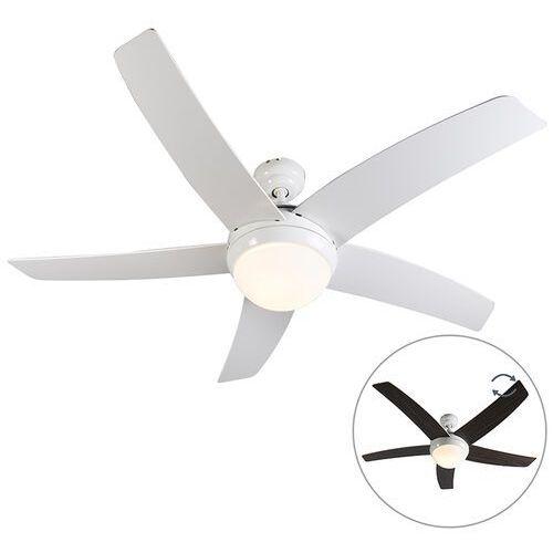 Wentylator sufitowy biały z pilotem - Cool 52