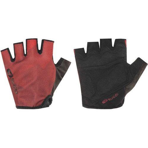 Sugoi classic rękawiczka rowerowa mężczyźni czerwony l 2018 rękawiczki szosowe (0673077074238)
