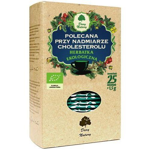 Herbata cholesterol fix bio 25*1,5g marki Dary natury