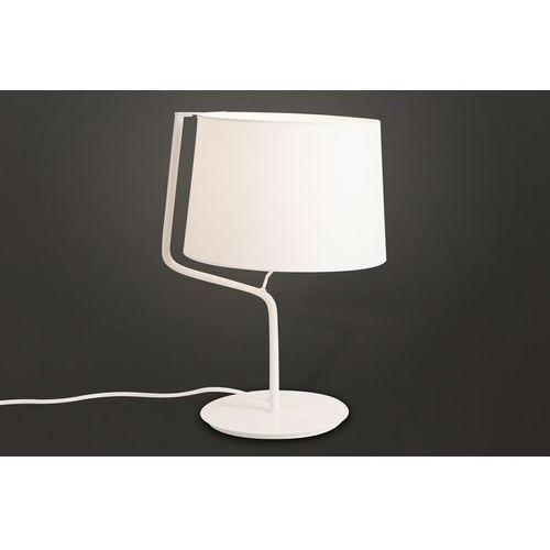 lampa stołowa CHICAGO biała, MAXLIGHT T0028