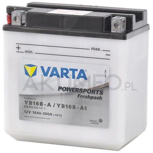 Akumulator VARTA Powersports YB16B-A 12V 16Ah 200A lewy+ oL (4016987140529)