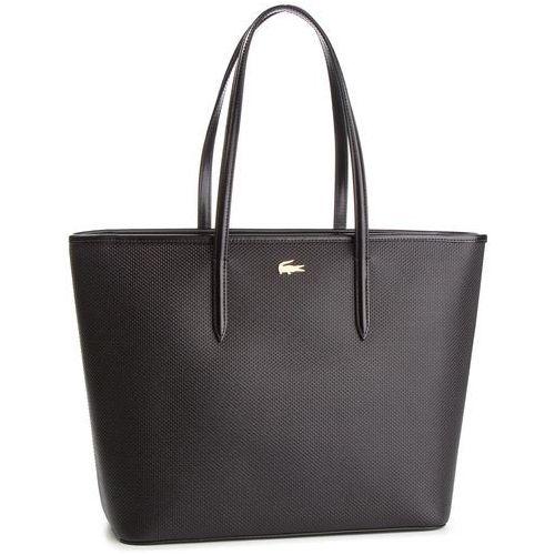 Torebka LACOSTE - Zip Shopping Bag NF2335CE Black 000