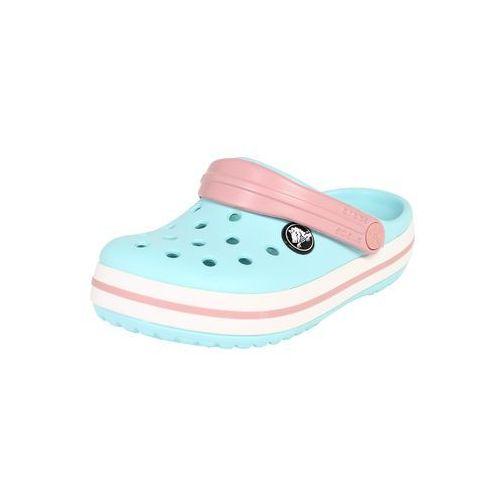 Crocs buty otwarte niebieski / różowy pudrowy