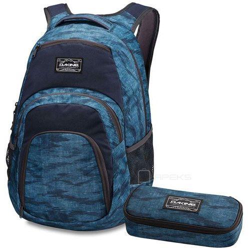 "campus 33l plecak miejski na laptopa 15"" + piórnik gratis / dark blue - dark blue marki Dakine"