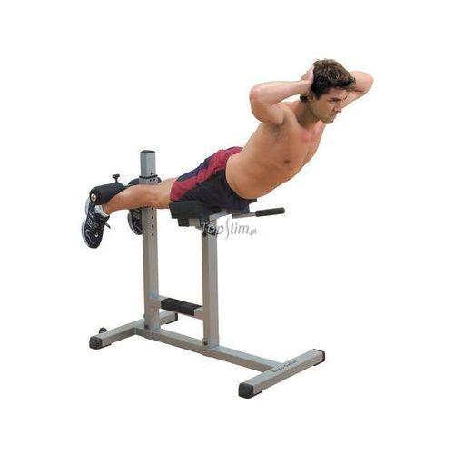 Ławka do ćwiczeń brzucha, grzbietu i pośladków Hyperextense BODY-SOLID GRCH322