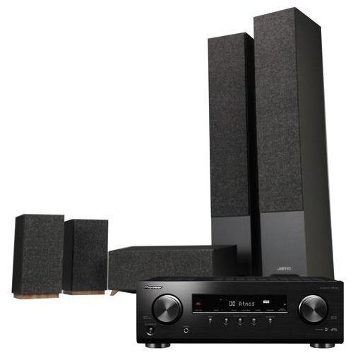 Pioneer Kino domowe vsx-534b + jamo s 809 hcs czarny