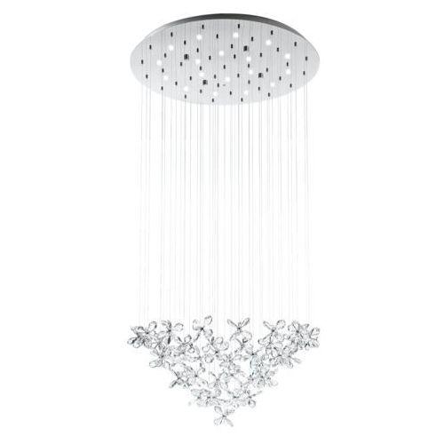 Lampa wisząca Eglo Saraceno 31491 zwis 18x2,4W LED 3000K chrom (9002759314910)