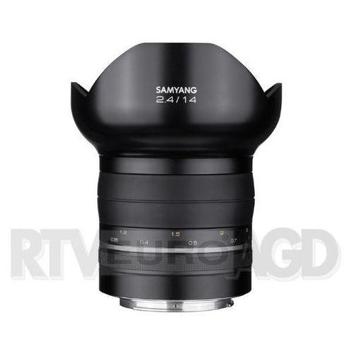Obiektyw  samyang premium xp 14mm f2.4 canon ae - sam000232 darmowy odbiór w 22 miastach! marki Samyang