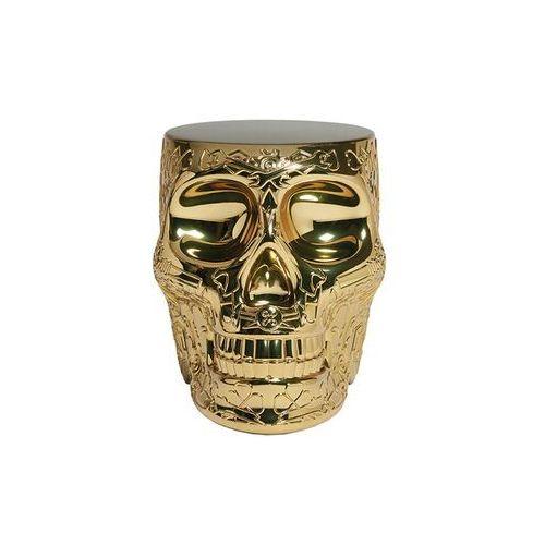 QeeBoo Stołek i stolik boczny MEXICO złoty 70003GO-M