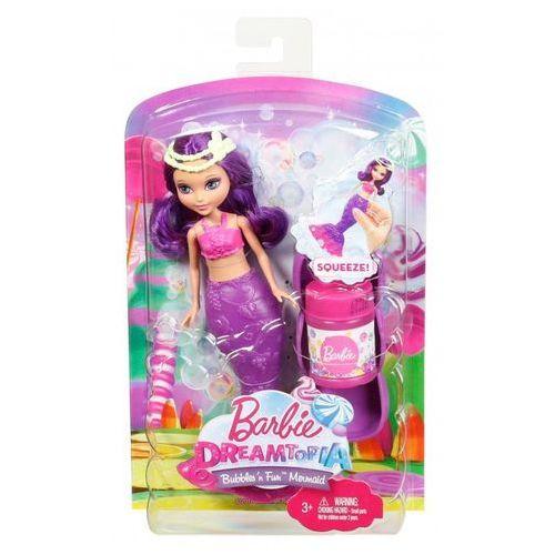 Barbie  bąbelkowe małe syrenki, różowa