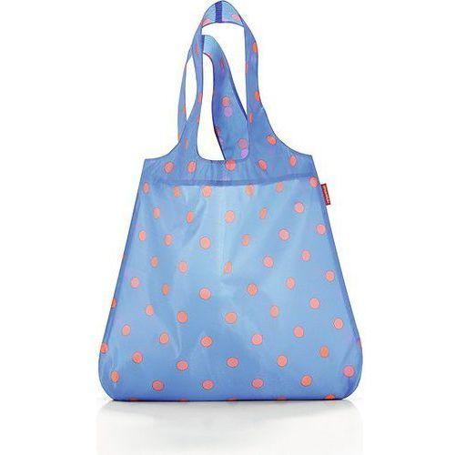 Torba na zakupy mini maxi shopper azure dots