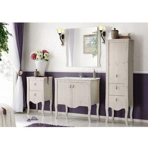 Zestaw mebli łazienkowych elisabeth set 80 cm marki Comad