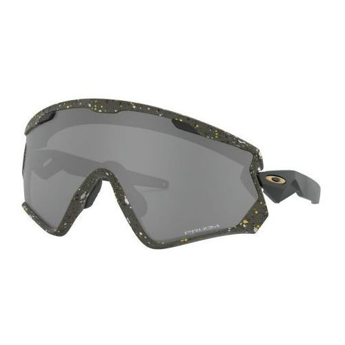 Okulary Oakley Wind Jacket 2.0 Splatter Olive Prizm Black OO9418-1945