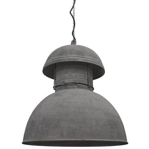 :: przemysłowa lampa okrągła rustykalna rozm. xl marki Hk living