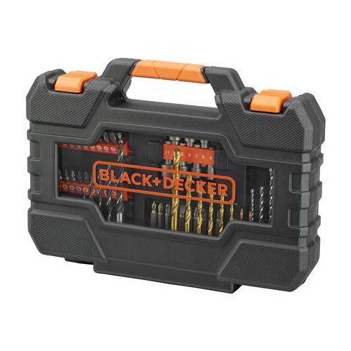 Black+Decker zestaw wierteł i wkrętów 76 szt (5035048540992)