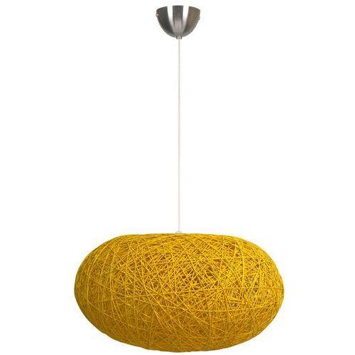 Candellux Lampa wisząca livio 31-51158  ratanowa oprawa zwis ratan żółty