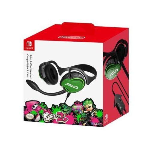 Zestaw słuchawkowy HORI NSW-047U Headset Splatoon 2 do Nintendo Switch