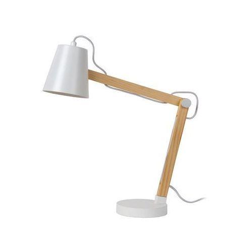 Lucide tony lampa stołowa brązowy, biały, 1-punktowy - nowoczesny - obszar wewnętrzny - tony - czas dostawy: od 4-8 dni roboczych (5411212030382)