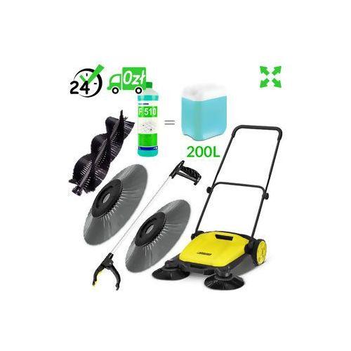 S 650 2w1 (650mm, 1800m²/h) zamiatarka 2w1 plus #zwrot 30dni #gwarancja d2d #karta 0zł #pobranie 0zł #leasing #raty 0% #wejdź i kup najtaniej marki Karcher
