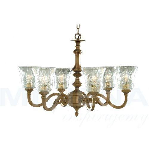 Malaga lampa wisząca 6 antyczny brąz (5013874243386)
