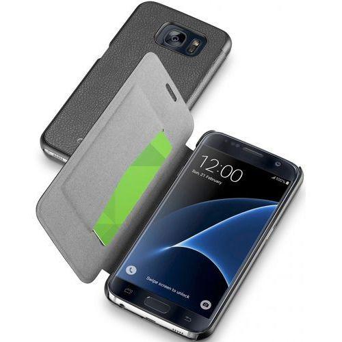 Etui CELLULAR LINE Book Essential do Samsung Galaxy S7 Czarny, CBOOKESSGALS7K