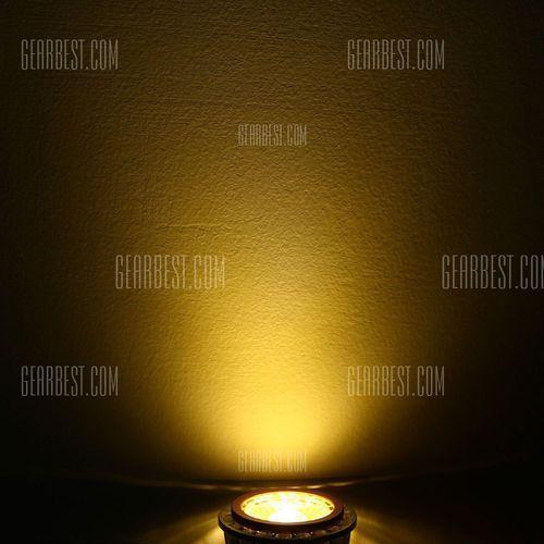 Youoklight 400lm mr16 4w dc 12v led bulb warm white golden cob spotlight - 3000k od producenta Gearbest