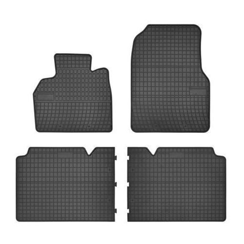 RENAULT Espace IV 2002-2015 zestaw dywaników gumowych FROGUM (5907377546870)