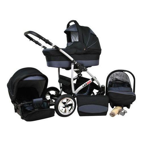 wózek wielofunkcyjny largo 3w1, szary marki Sun baby