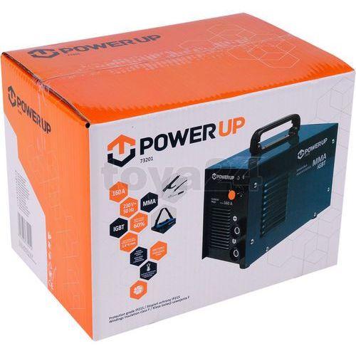 Power up Spawarka inwertorowa mma igbt 160a 73201 - zyskaj rabat 30 zł