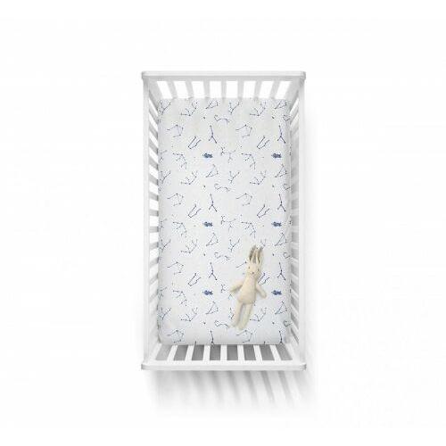 Baby Steps - Bawełniane prześcieradło - Wish light 70x140 cm, 8983-20255