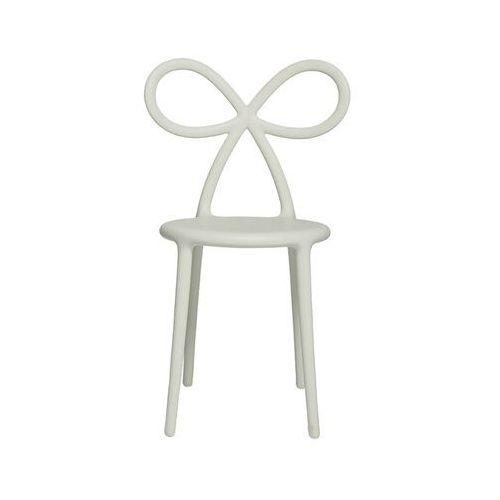 Qeeboo krzesło ribbon biały mat 80001wh-os