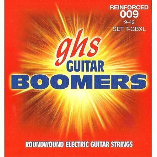 reinforced guitar boomers struny do gitary elektrycznej, extra light,.009-.042 marki Ghs