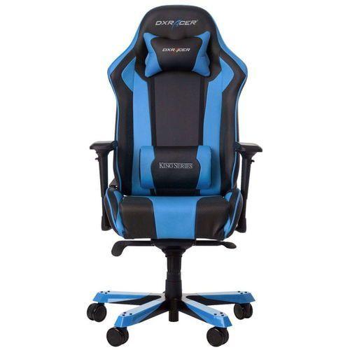 Dxracer fotel obrotowy king ks06/nb, czarny/niebieski ks06/nb