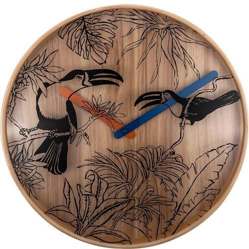Nextime Zegar ścienny tropical birds 40 cm (3230)